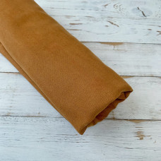 Искусственная замша для скрапбукинга, цвет охра (35 х 50 см.)