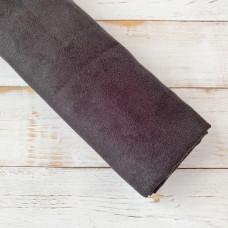 Искусственная замша для скрапбукинга, цвет чёрный (35 х 50 см.)