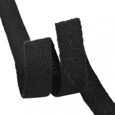 Лента киперная, чёрная, 0,5 см.