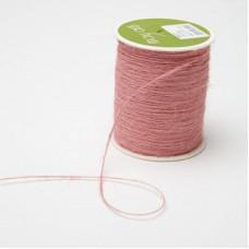 Шнур May Arts Джут, 1 мм., Цвет - Розовый, 1 ярд
