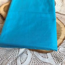 Ткань однотонная ярко-голубая