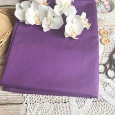 Ткань однотонная тёмно-фиолетовая