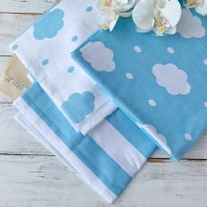 Ткань для скрапбукинга облака, в ассортименте