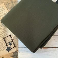 Ткань однотонная Рип-Стоп тёмно-зелёная