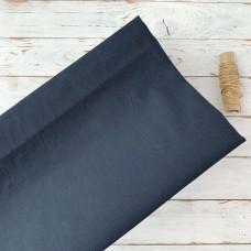 Ткань однотонная чёрная