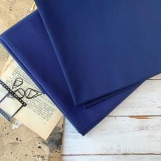 Ткань однотонная Рип-Стоп тёмно-синяя