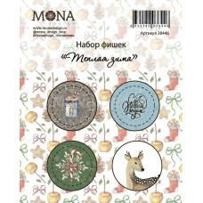 "Набор фишек от Mona Design ""Тёплая зима"""