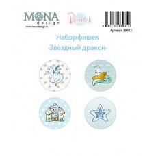 """Набор фишек от Mona Design """"Звёздный дракон"""""""