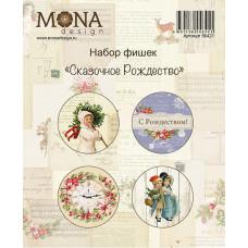 "Набор фишек от Mona Design ""Сказочное Рождество"""