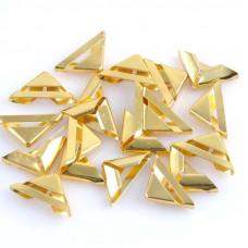 """Уголок для альбома """"треугольник"""", золото (17 мм.)"""