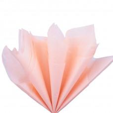 Бумага тишью, розовая глянцевая