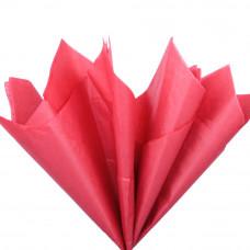 Бумага тишью, красная