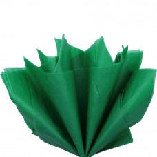 Бумага тишью, тёмно-зелёная
