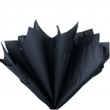 Бумага тишью, чёрная глянцевая