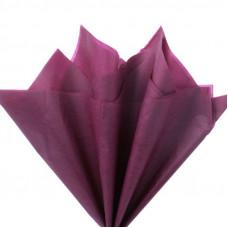 Бумага тишью, бордовая