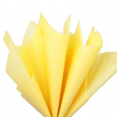 Бумага тишью, жёлтая