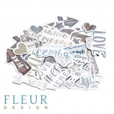Набор высечек для скрапбукинга от Fleur Design Backstage