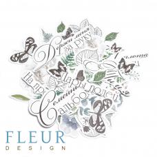Набор высечек для скрапбукинга от Fleur Design Дары полей