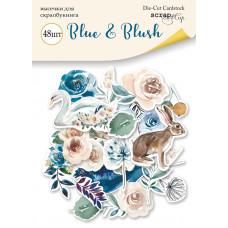 Набор высечек для скрапбукинга 48 шт. от Scrapmir Blue & Blush