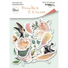 Набор высечек для скрапбукинга 69 шт. от Scrapmir Peaches & Cream