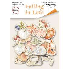 Набор высечек для скрапбукинга 68 шт. от Scrapmir Falling in Love