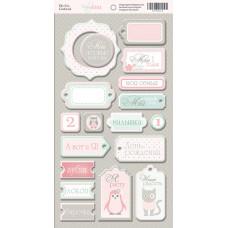 Чипборд для скрапбукинга 18 шт. от Scrapmir Baby Girl