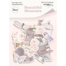 Набор высечек для скрапбукинга 36 шт. от Scrapmir Beautiful Moments