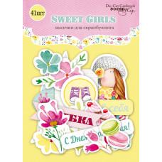 Набор высечек для скрапбукинга 41 шт. от Scrapmir Sweet Girls