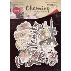Набор высечек для скрапбукинга 45 шт. от Scrapmir Charming