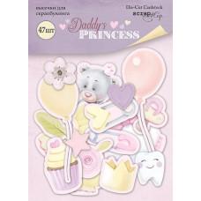 Набор высечек для скрапбукинга 47 шт. от Scrapmir Daddy's Princess