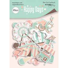 Набор высечек для скрапбукинга 49 шт. от Scrapmir Happy Days