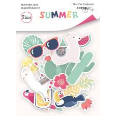 Набор высечек для скрапбукинга 51 шт. от Scrapmir Summer