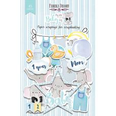 Набор высечек для скрапбукинга от Фабрики Декора My little baby boy, 45 шт.